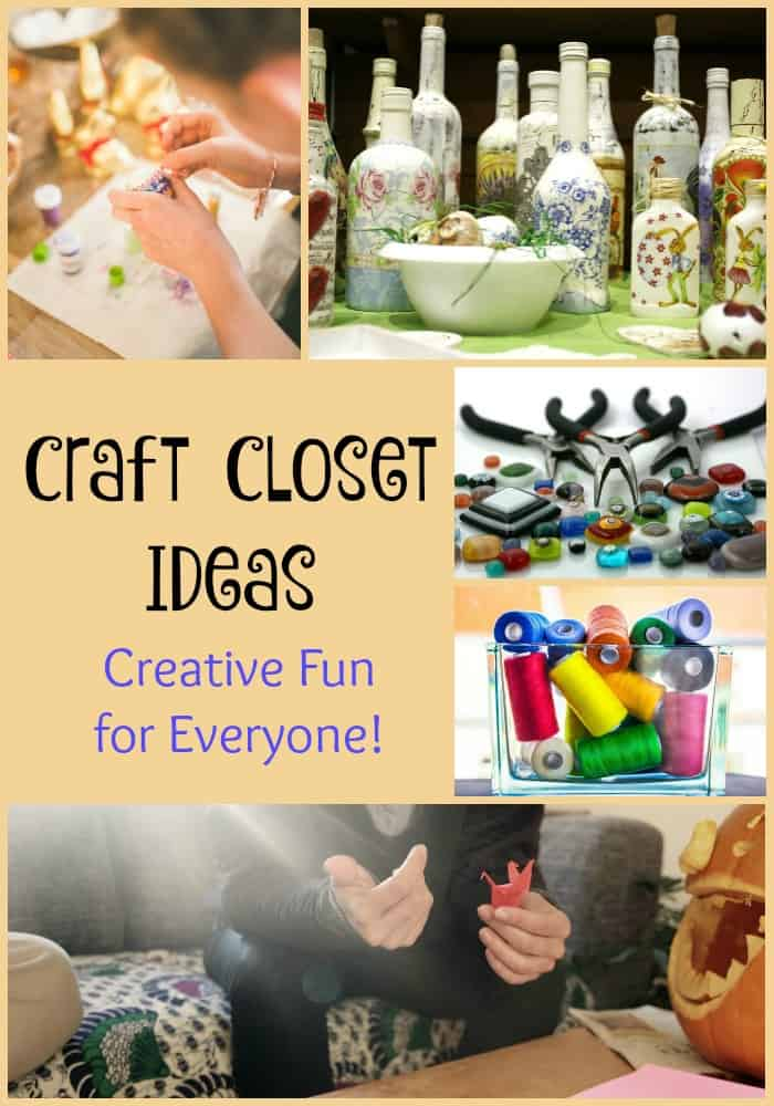 Craft Closet Ideas and How To Keep it Stocked Without Going Broke!