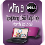 #Giveaway: Enter to #win a Dell Laptop!  (ARV $648.99)