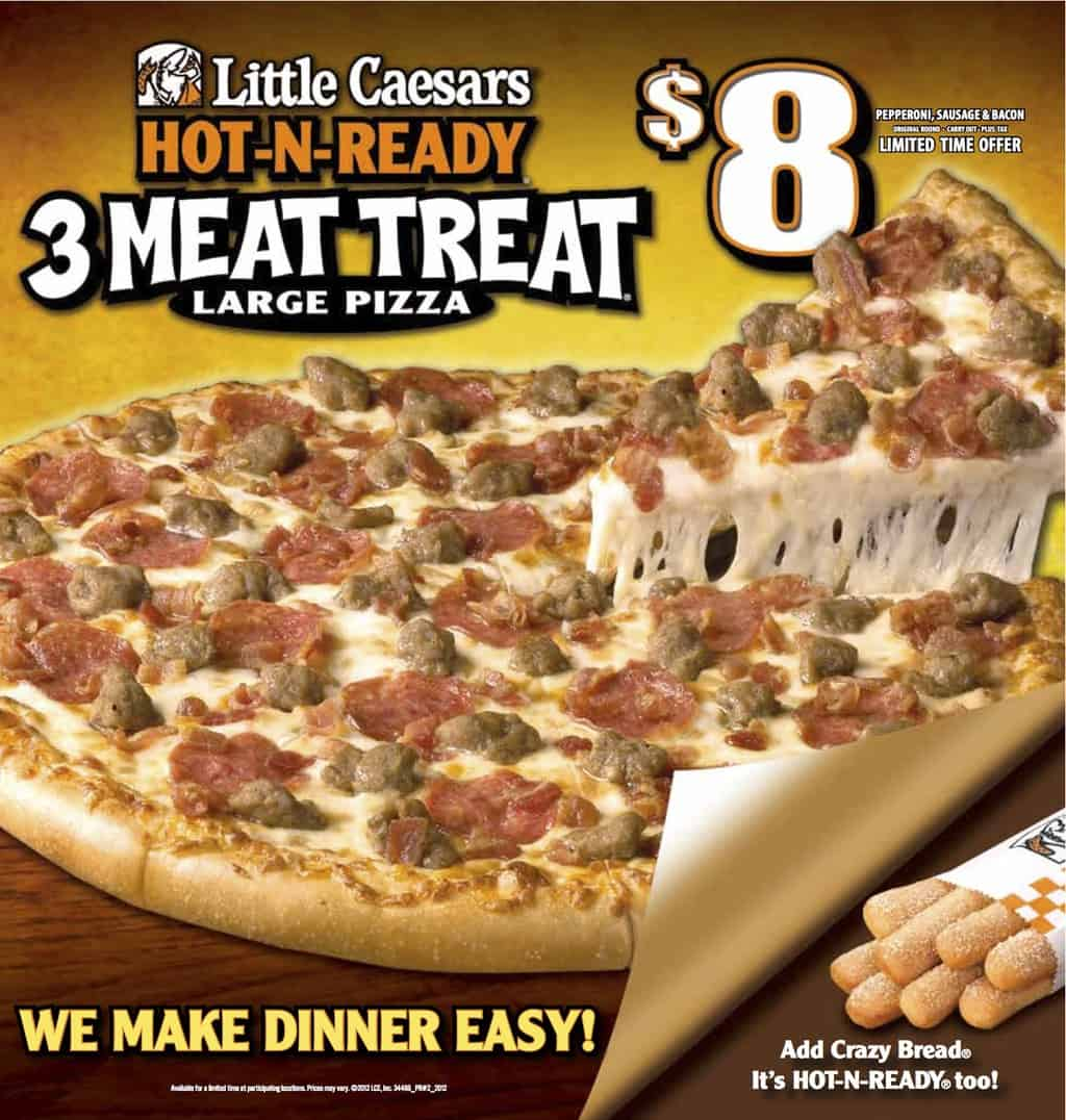Little Caesars Gift Card up for grabs and some hot promotions!