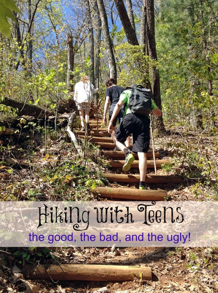 Hiking with teens