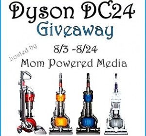 Free Blogger Event: Dyson DC24 Cleaner Home Giveaway Event! (sign up now!)