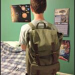 Up for Grabs:  Stylish backpack from Ark Clothes  #b2sspree