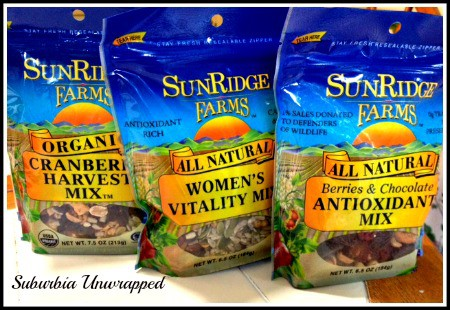 sunridge farms trail mix