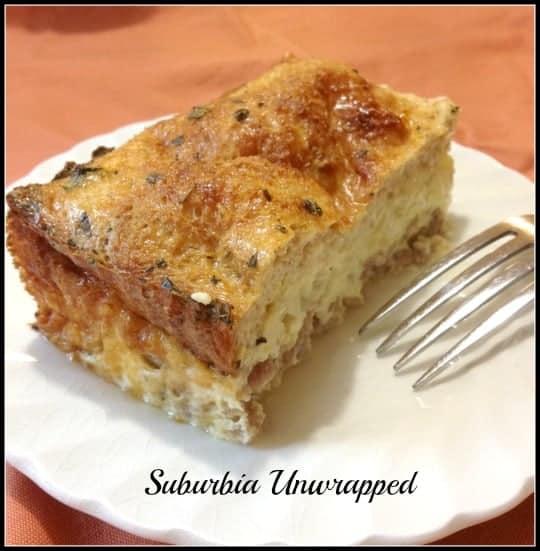 Italian Sausage Breakfast Casserole