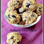 No Bake Oatmeal Raisin Energy Balls