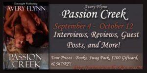Passion Creek Book Tour Banner