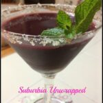 Refreshing Acai and Mint Cocktail #Recipe