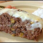 Colorado Chili Meatloaf #Recipe with Cabot Sharp Light Cheddar