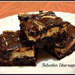 Peanut Butter Cream Cheese Brownies #Recipe