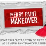 Ace Hardware $50 GC Giveaway and the Merry Paint Makeover Contest!