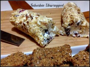 Cranberry Walnut Goat Cheese Log