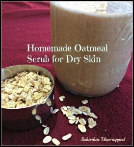 homemade oatmeal scrub dry skin remedies