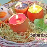 Easy Easter Craft egg shell candles