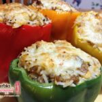 Sweet and Spicy Stuffed Peppers