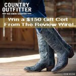 Country Outfitter $150 Gift Certificate Giveaway