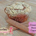 Cinnamon Streusel cupcake recipe and Hey Shuga