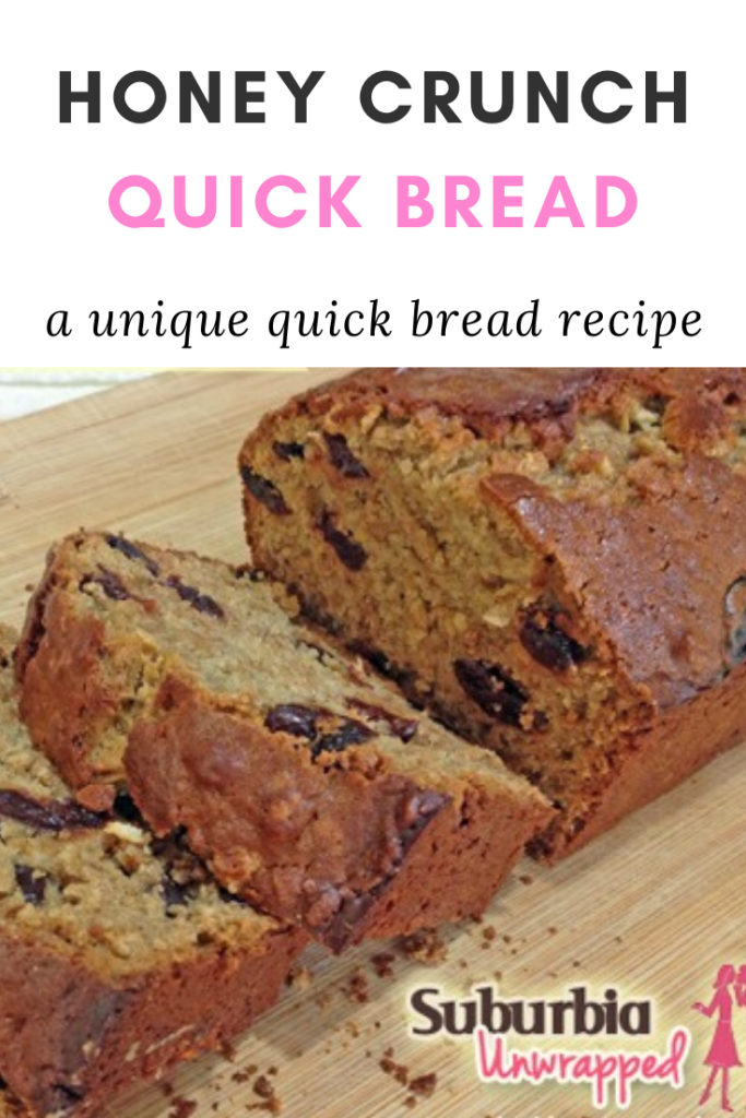 a photo of a quick bread with raisins