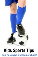 Kids Sports Tips: Surviving a Season of Chaos