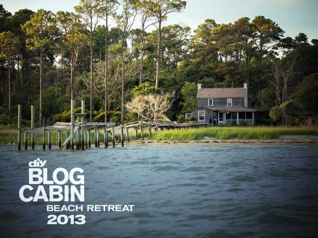 blog cabin DIY