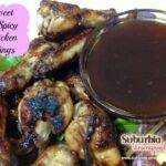sweet and spicy chicken wing recipe