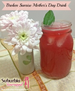 mothers day drink recipe with banner