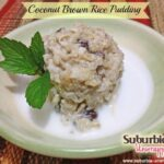 Coconut Brown Rice Pudding Recipe with #SuccessRice (#Ad)