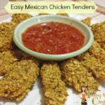Easy Dinner Recipe: Mexican Chicken Tenders #sponsored