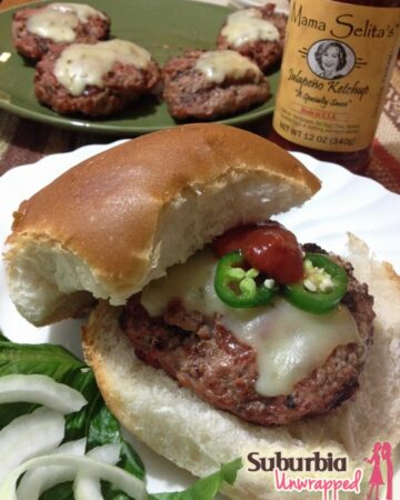 easy grilling recipes spicy tomato burger