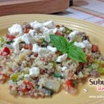 Easy Dinner Recipe: Italian Couscous with Sausage  #15MinuteSuppers