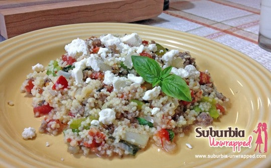 easy dinner recipe sausage couscous