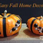 Fall Home Decor Ideas:  A Vase Full of Pumpkins!