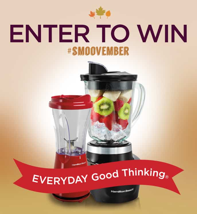 smoothie recipe and giveaway