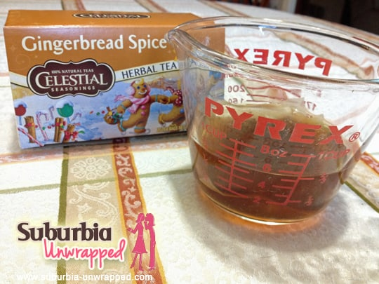 celestial seasonings tea and cake recipe