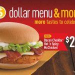 Dollar Menu Deals for your Almost Empty Wallet