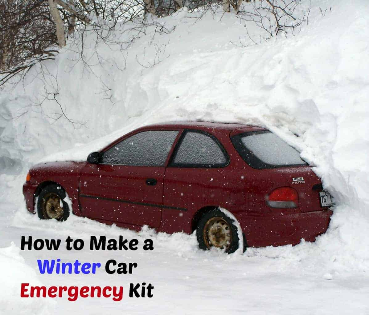 How to Create a Winter Car Emergency Kit