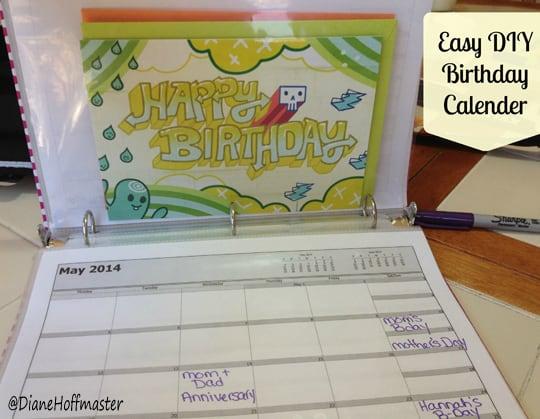 birthday calender 2 #ValueCards