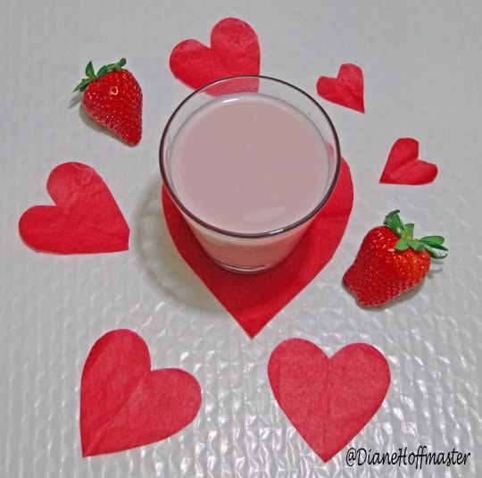 how to make homemade strawberry milk