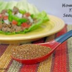 Homemade Taco Seasoning Recipe and Paleo Diet Approved Taco Wraps