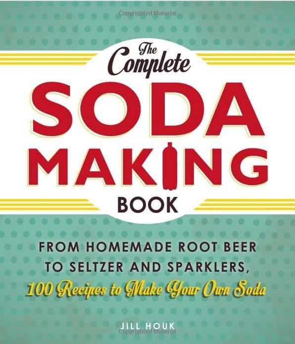 making homemade soda