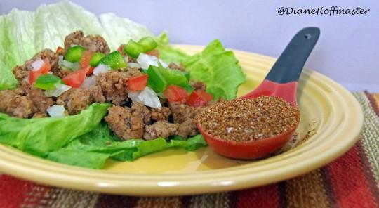 paleo diet taco wrap