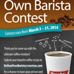 Be Your Own Barista and RaceTrac Giveaway #BeYourOwnBarista