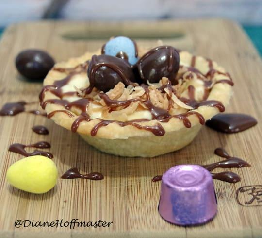 Easter Dessert Recipe Birds Nest Pudding Tarts Suburbia Unwrapped