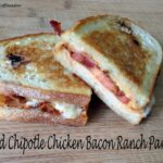 Bold Chipotle Chicken Bacon Ranch Panini sandwich recipe