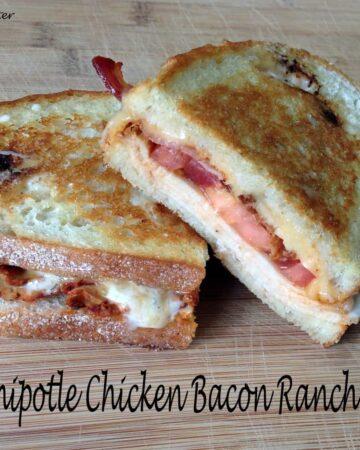 Bold Chipotle Chicken Bacon Ranch Panini sandwich recipe