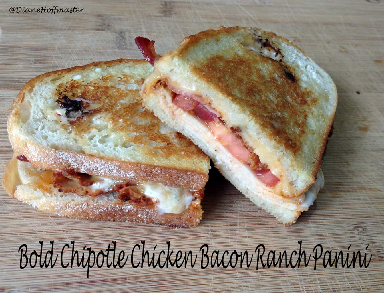 Bold Chipotle Chicken Bacon Ranch Panini