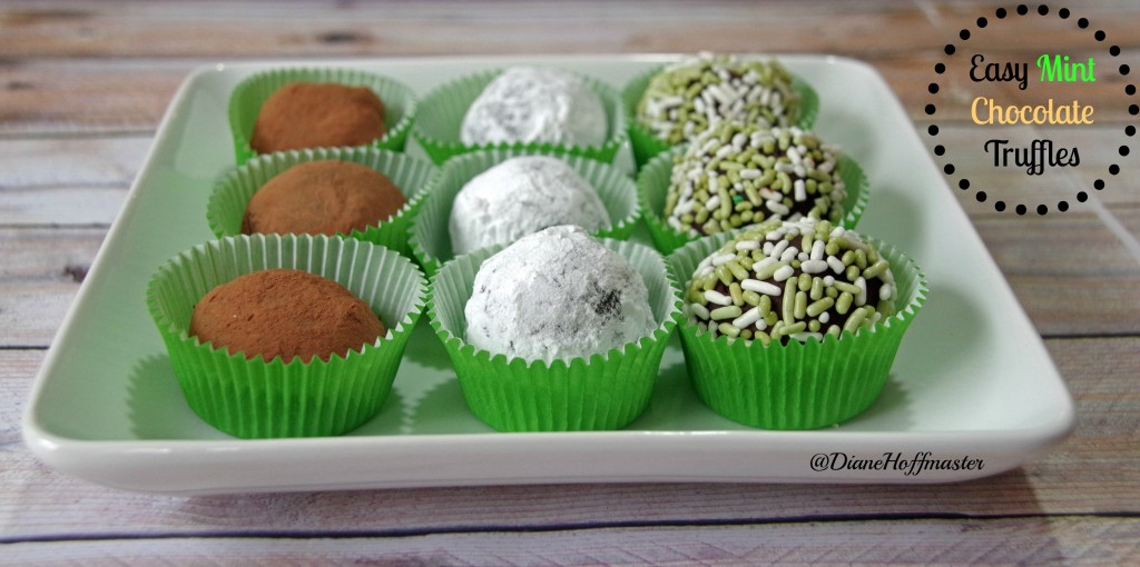 Easy Mint Chocolate Truffle Recipe