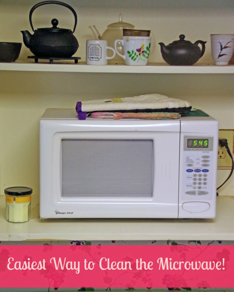 Easiest Way to Clean the Microwave