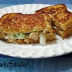 Spicy Chipotle Chicken and Ranch Grilled Cheese Recipe