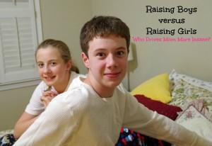 Raising boys vs Raising Girls: Who Drives Mom More Insane?