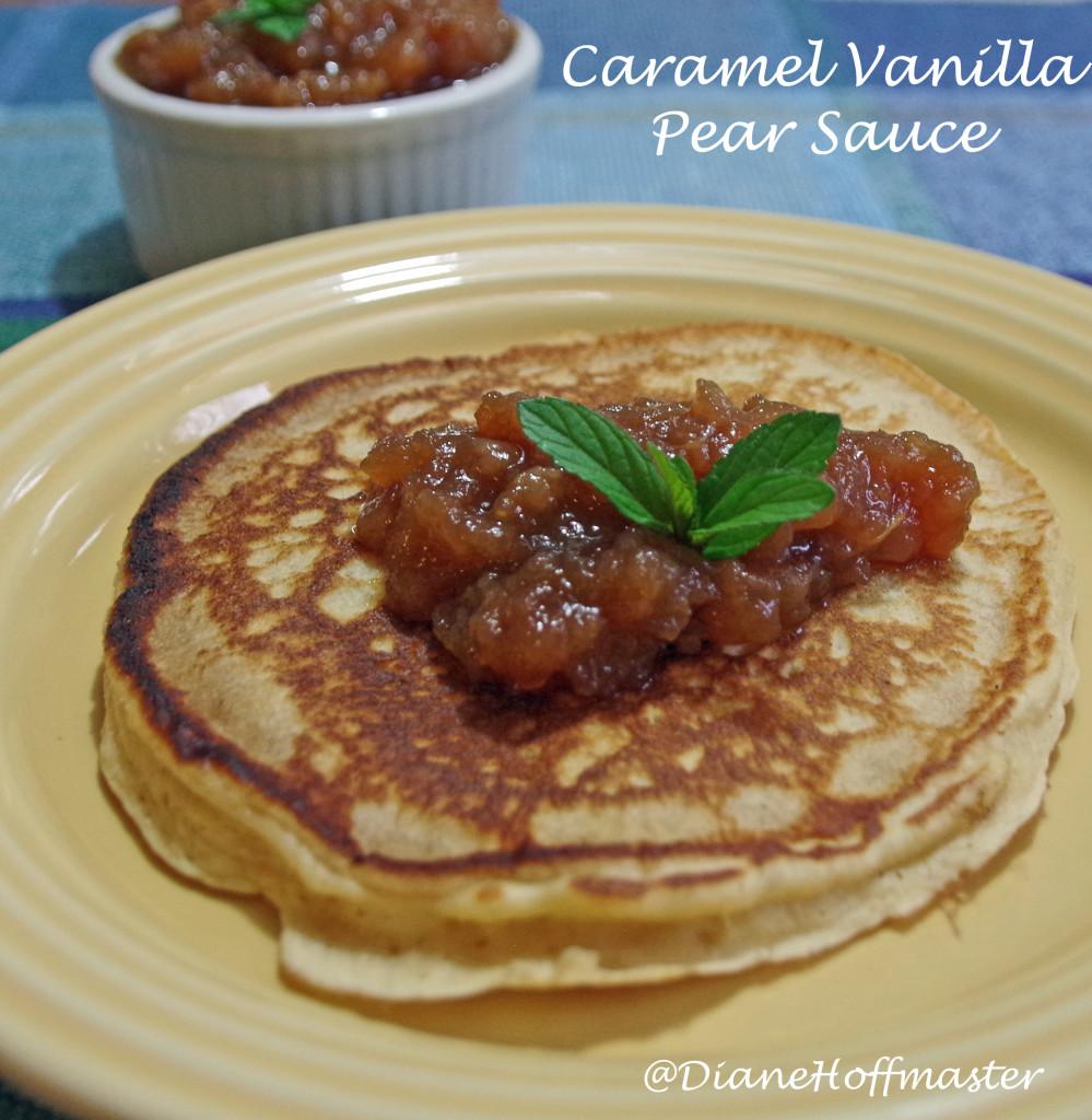 Caramel Vanilla Pear Sauce Recipe